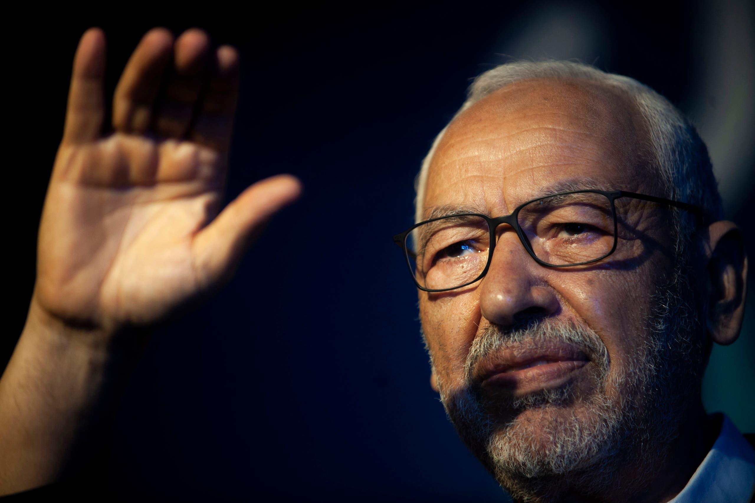 رئيس حركة النهضة والبرلمان التونسي راشد الغنوشي (أرشيفية- أسوشييتد برس)