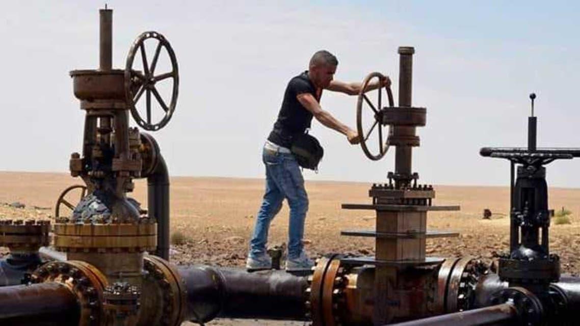 غلق محطة ضخ النفط
