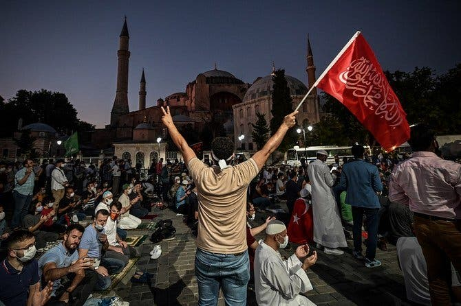 Last week a top Turkish court revoked the sixth-century Hagia Sophia's status as a museum, clearing the way for it to be turned back into a mosque. (File photo: AFP)