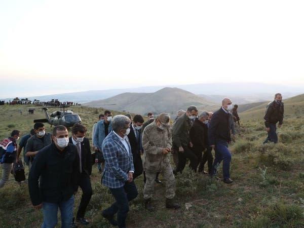 مقتل 7 عناصر أمن عسكريين أتراك في تحطم طائرة استطلاع