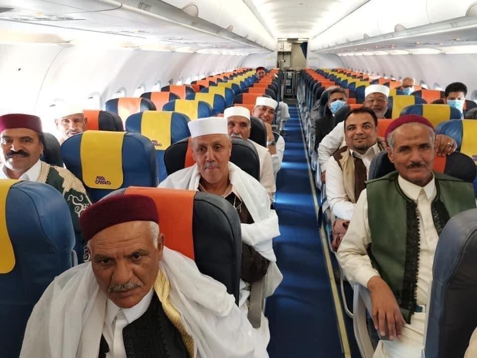 وفد من شيوخ وأعيان ليبيا