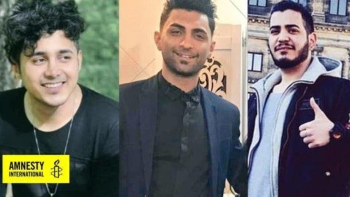 إيران إعدام 3 شبان