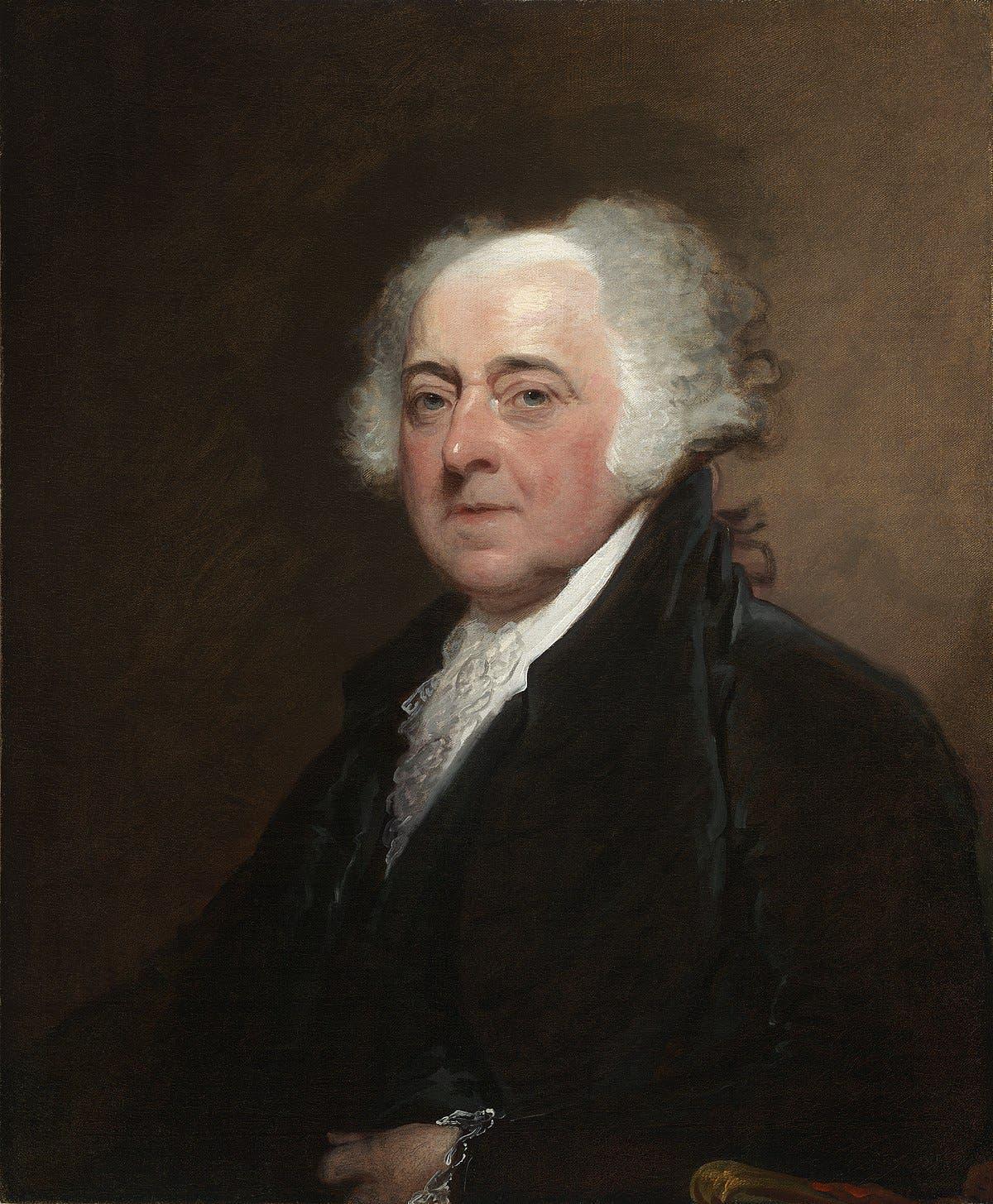 صورة للرئيس الأميركي جون أدامز