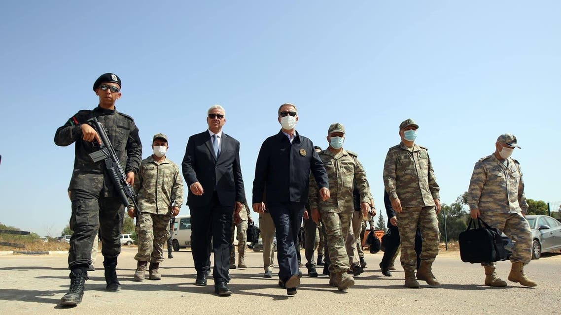 Turkey force in Libya