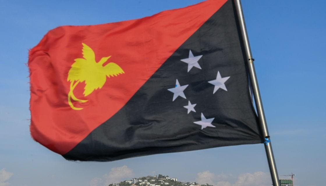 علم بابوا غينيا الجديدة