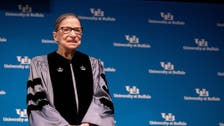 US Supreme Court Justice Ruth Bader Ginsburg being treated for cancer