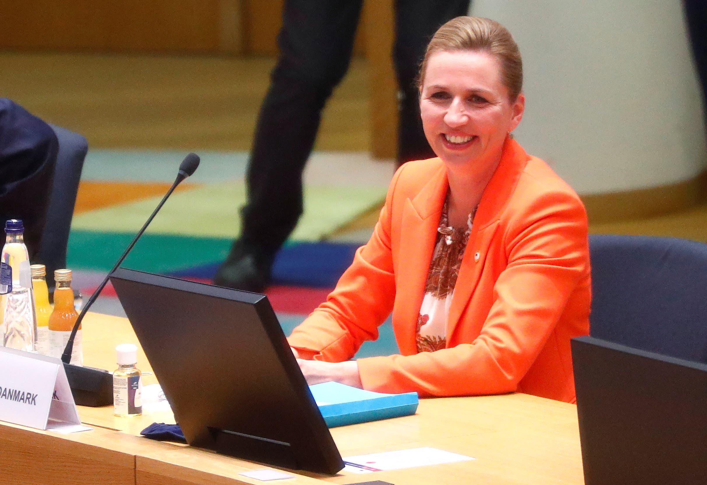 رئيسة وزراء الدنمارك خلال القمة