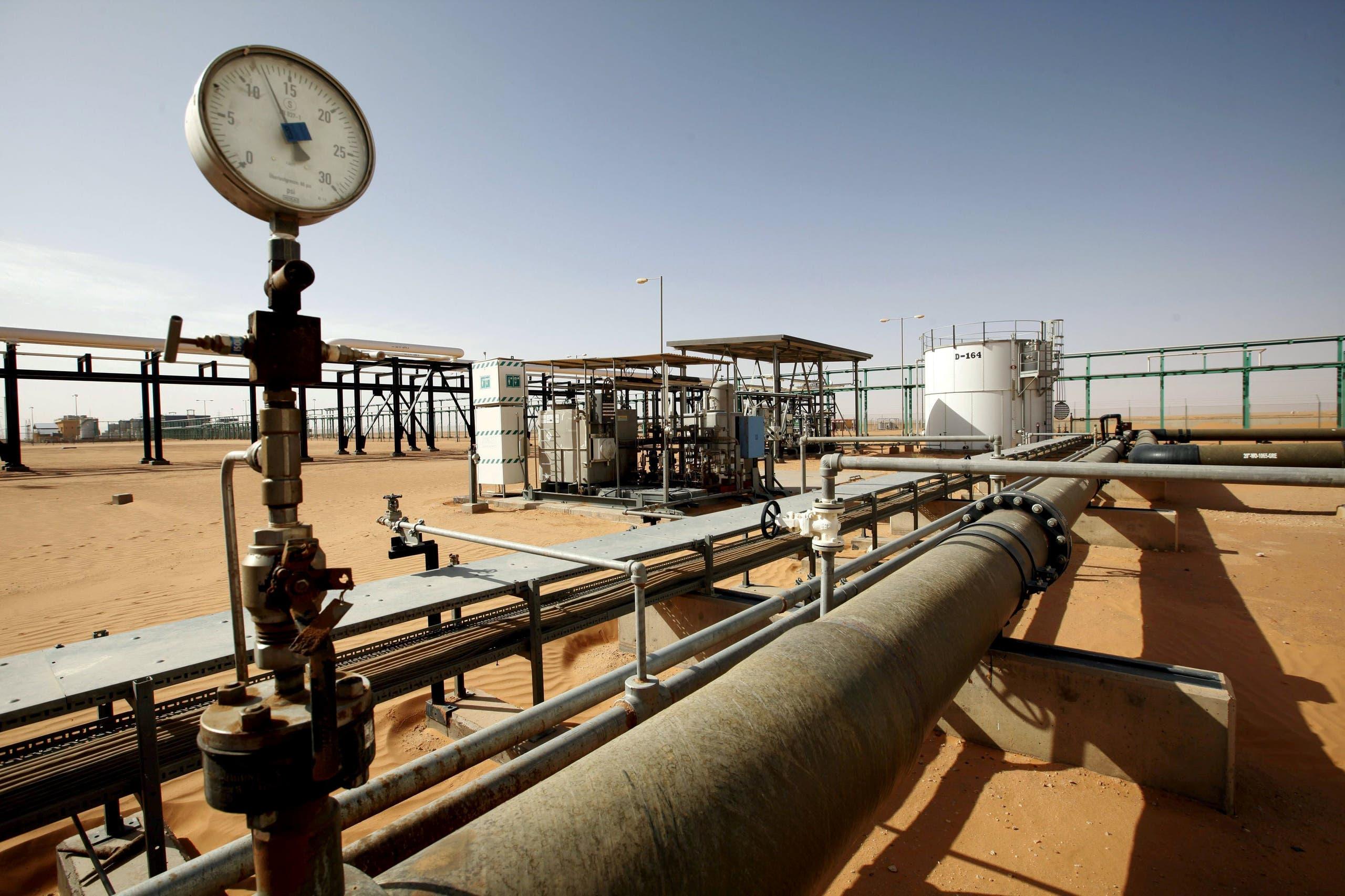 حقل الشرارة النفطي (أرشيفية)
