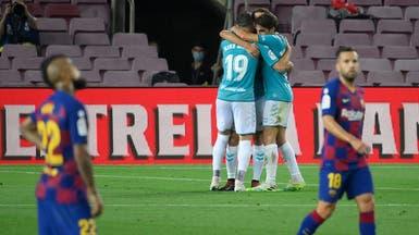 برشلونة يتعثر على أرضه أمام أوساسونا