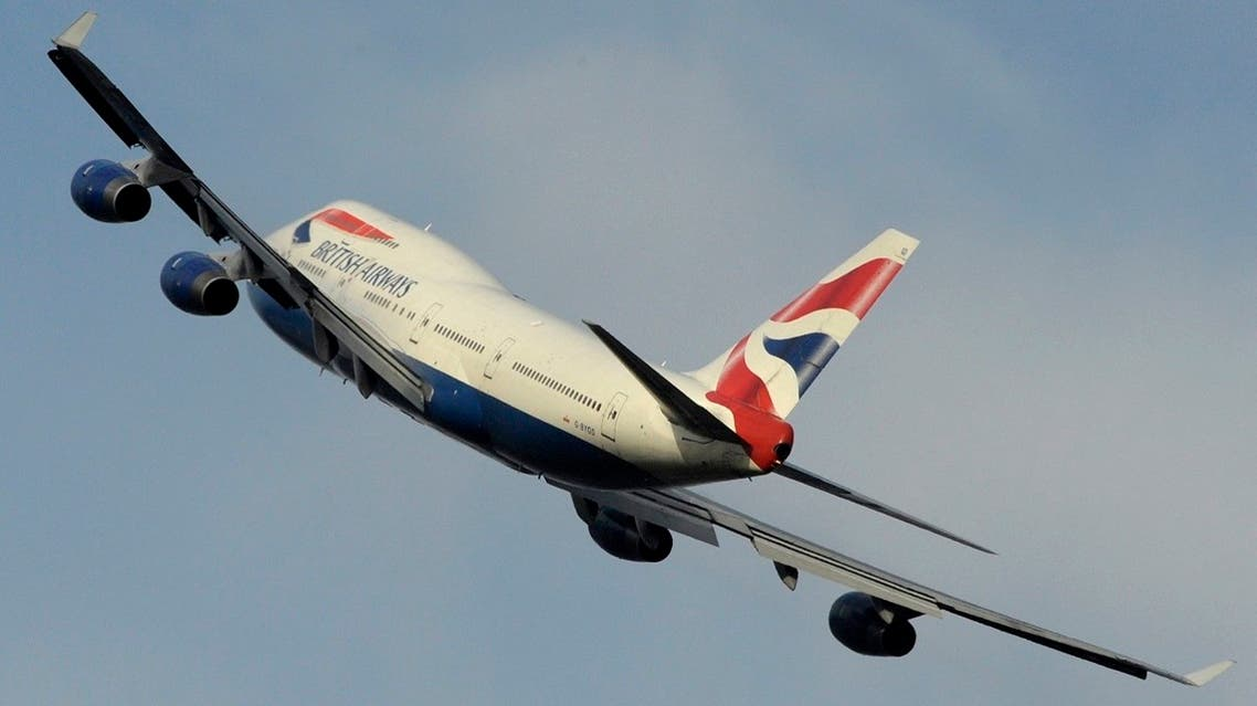 File photo of British Airways Boeing 747 takes off from Heathrow Airport in west London. (Reuters)