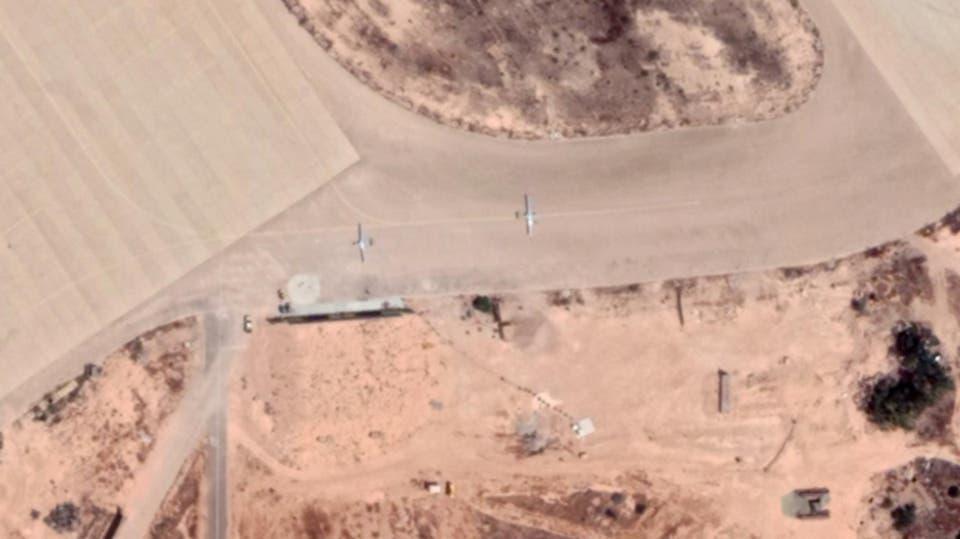 صور لطائرات مسيرة تركية في مصراتة