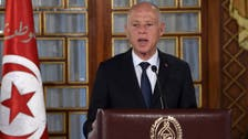 Tunisia's President Saied resists parliament's bid to create constitutional court