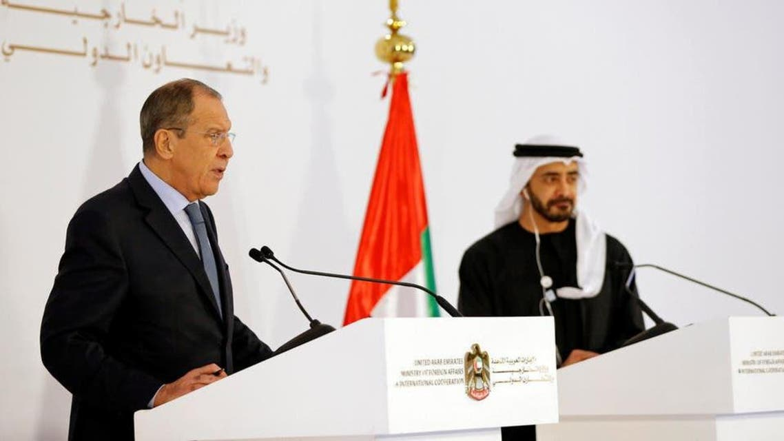 UAE and Russia