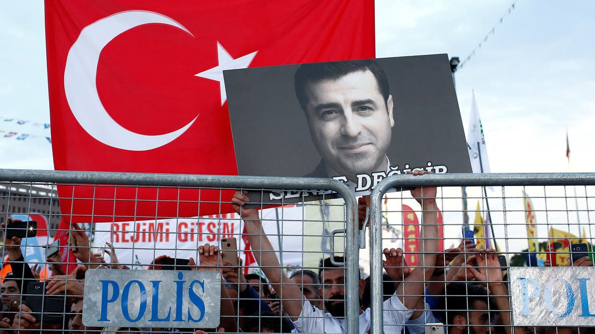 Turkish court accepts new indictment against Kurdish leader Demirtas in protest case thumbnail