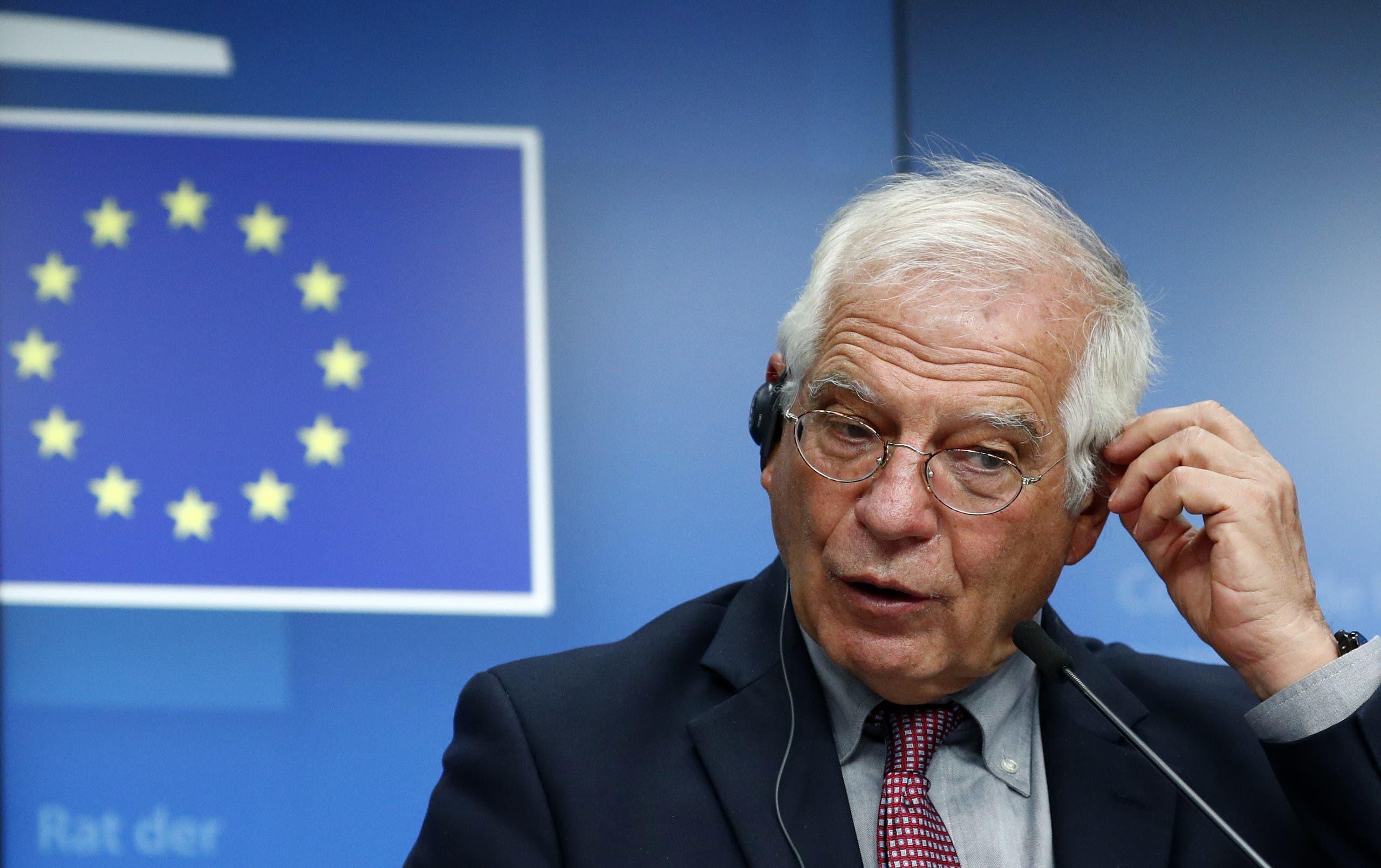 المفوض الأوروبي للعلاقات الخارجية جوزيب بوريل