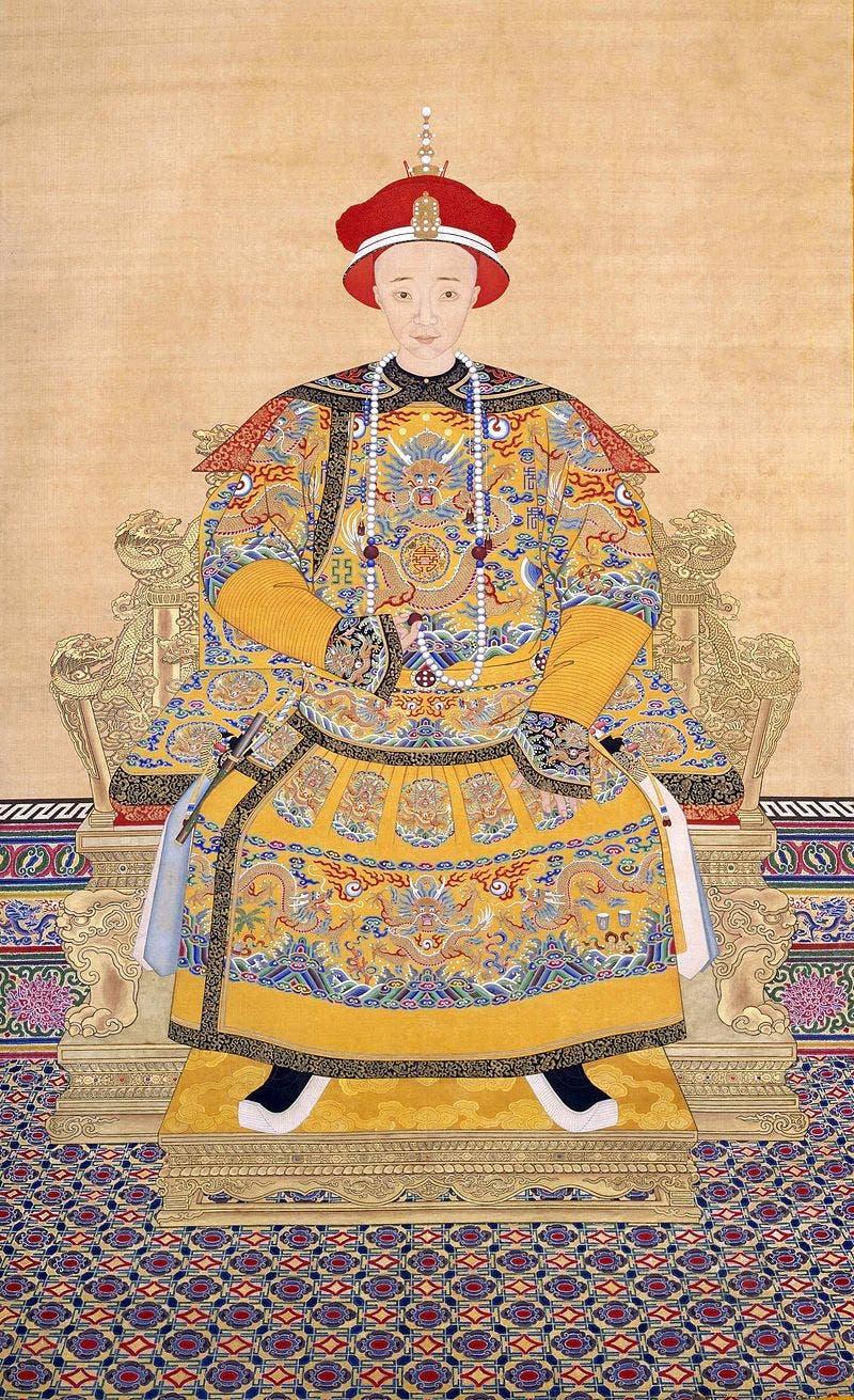 رسم تخيلي للإمبراطور شيان فنغ