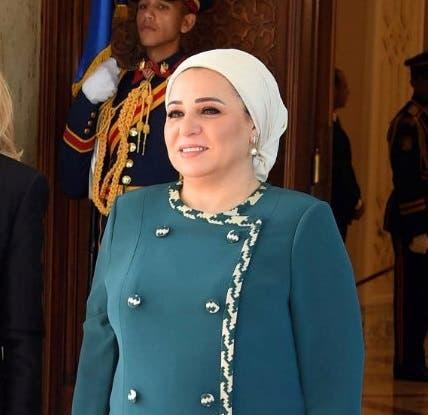 انتصار عامر زوجة السيسي