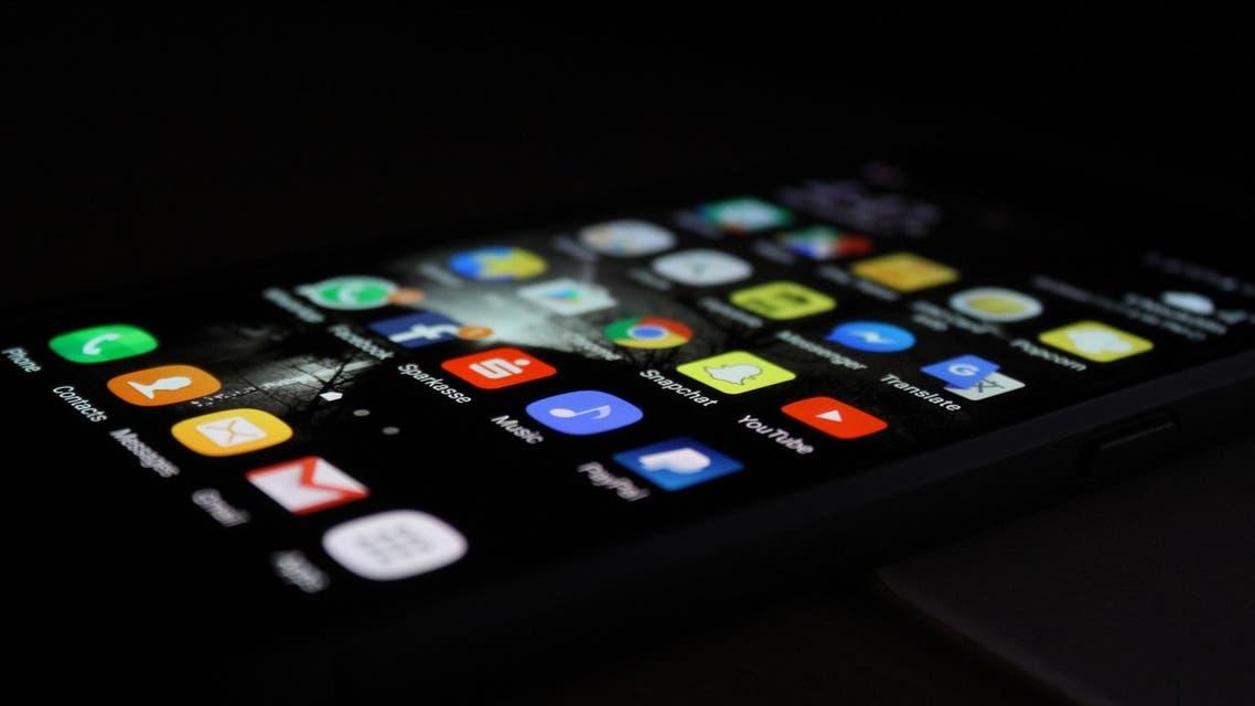 A smartphone home screen. (File photo: Rami Al-zayat/Unsplash)