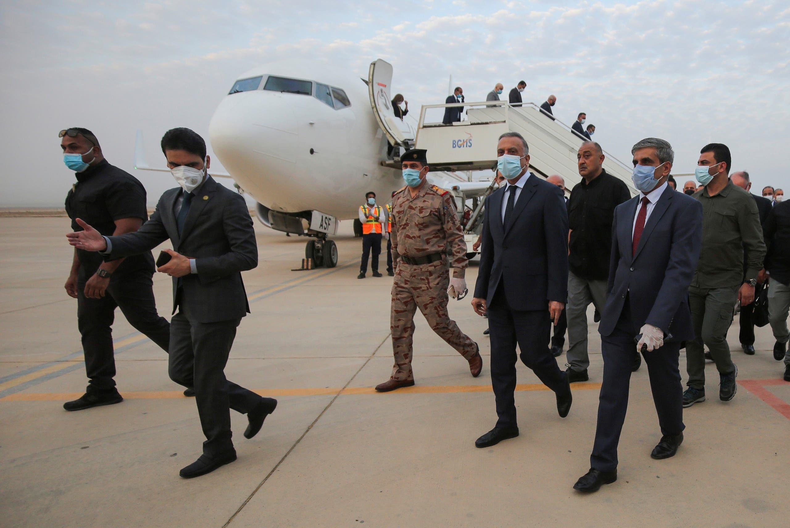رئيس الوزراء العراقي مصطفى الكاظمي (أرشيفية- رويترز)