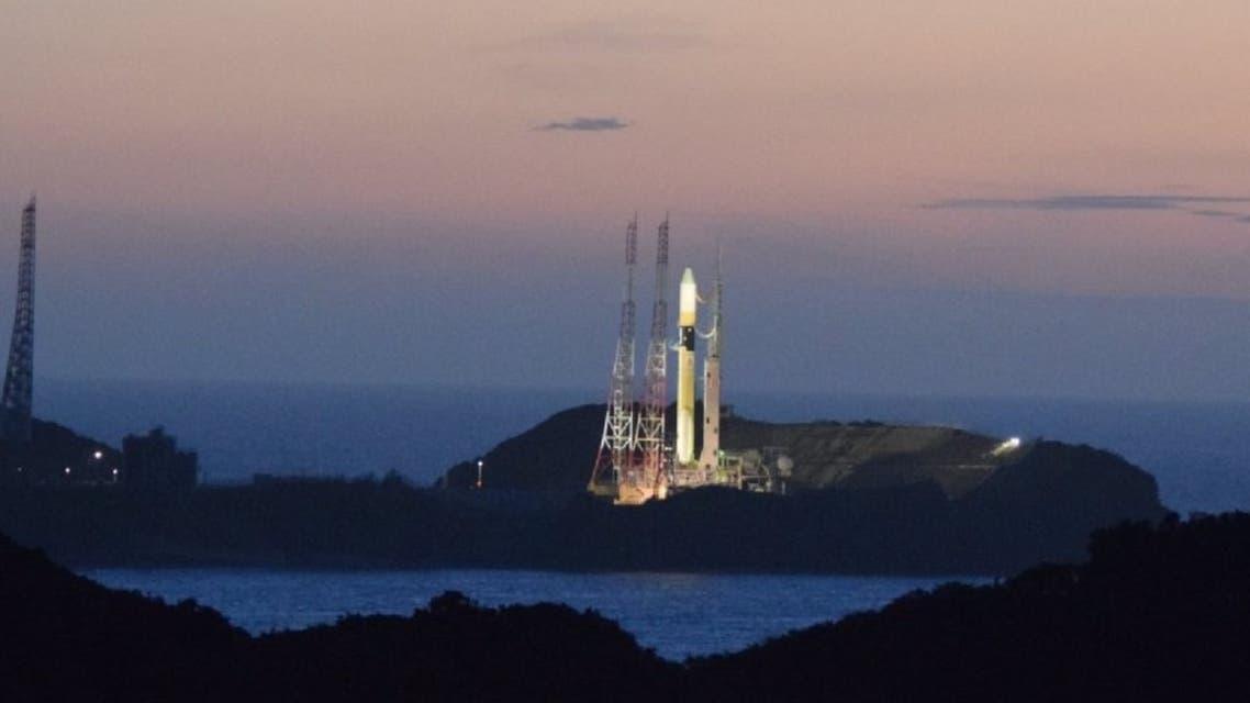 The UAE's Hope Probe set to launch from Japan's Tanegashima Space Center. (Twitter/HopeMarsMission)
