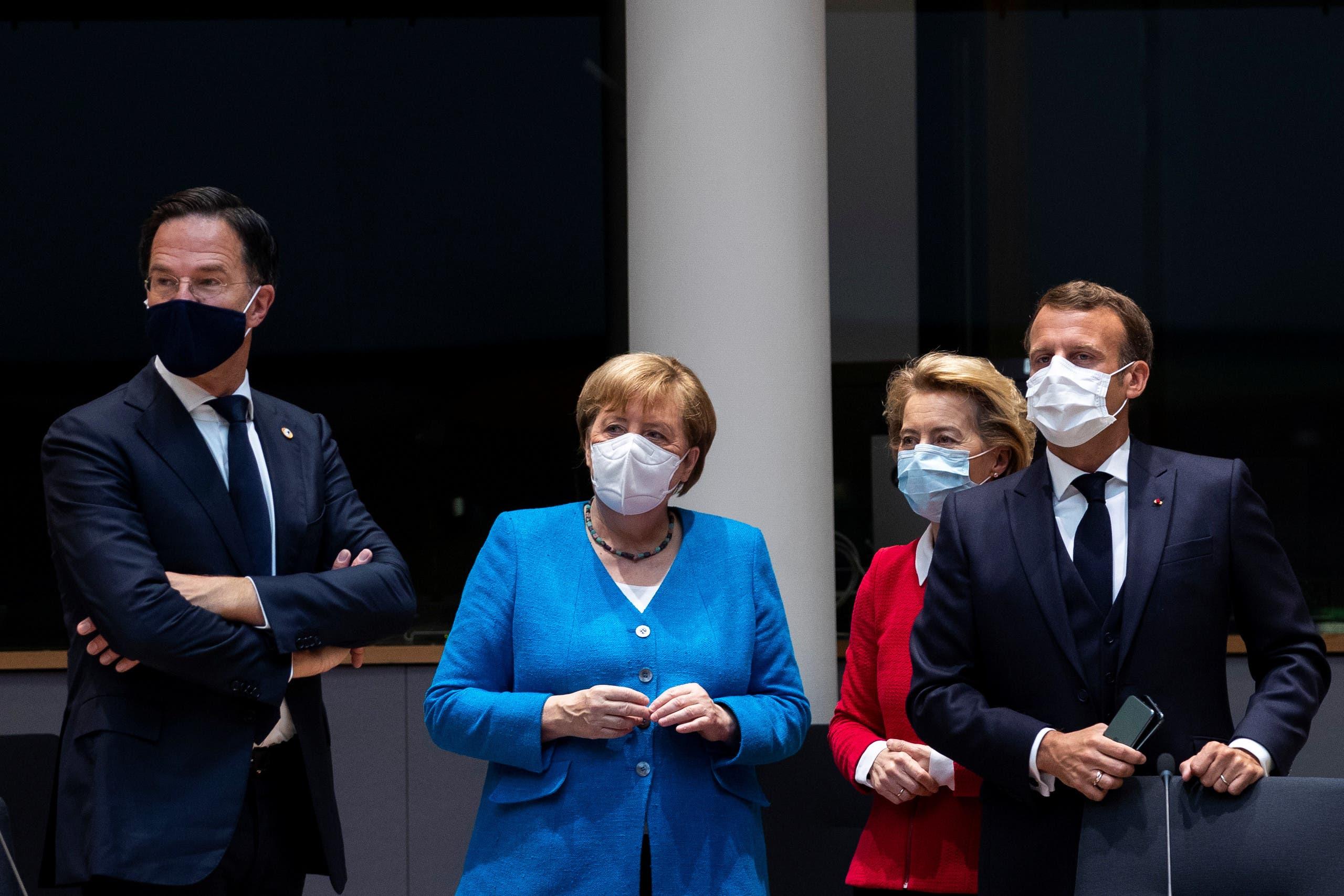 من اجتماعات الاتحاد الأوروبي في بروكسيل (أرشيفية- رويترز)