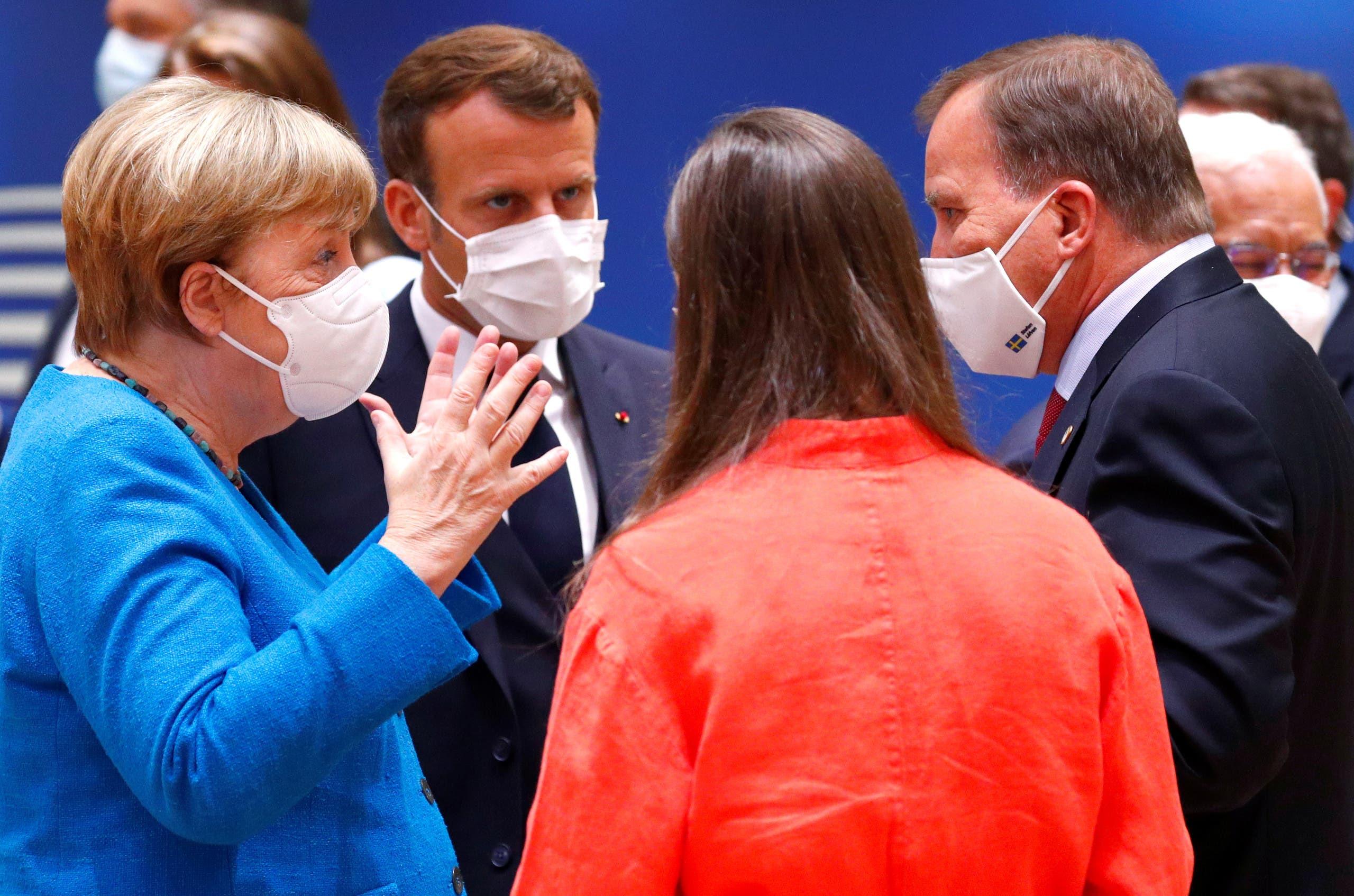من اجتماعات الاتحاد الأوروبي في بروكسل