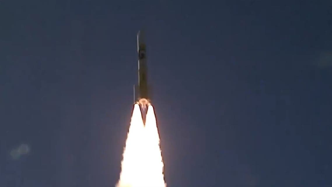 The UAE's Hope Probe launched from Japan's Tanegashima Space Center. (Screengrab)