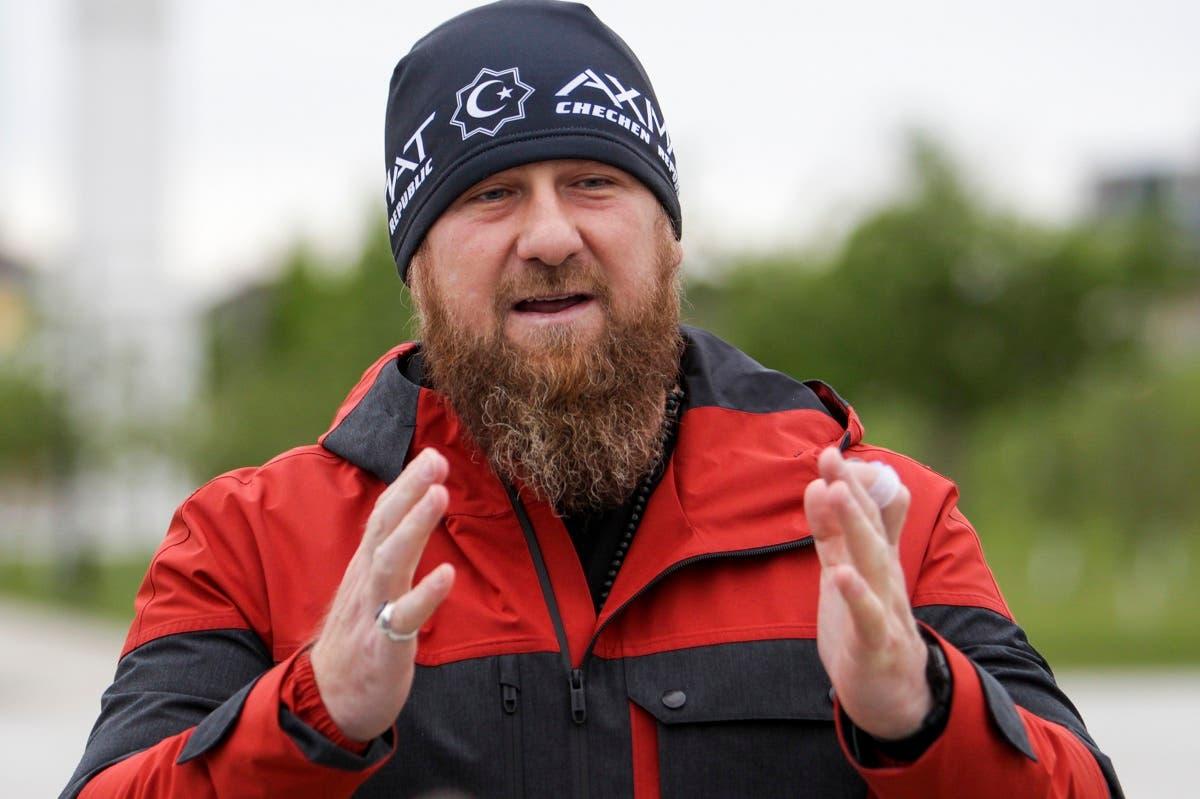 Chechnya's regional leader Ramzan Kadyrov speaks to journalists as he presents new ambulance vehicles in Grozny, Russia. (File Photo: AP)
