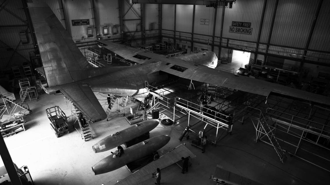 AMMROC in Abu Dhabi is the region's only authorized Lockheed Martin C-130 Service Centre.(Courtesy: WAM)