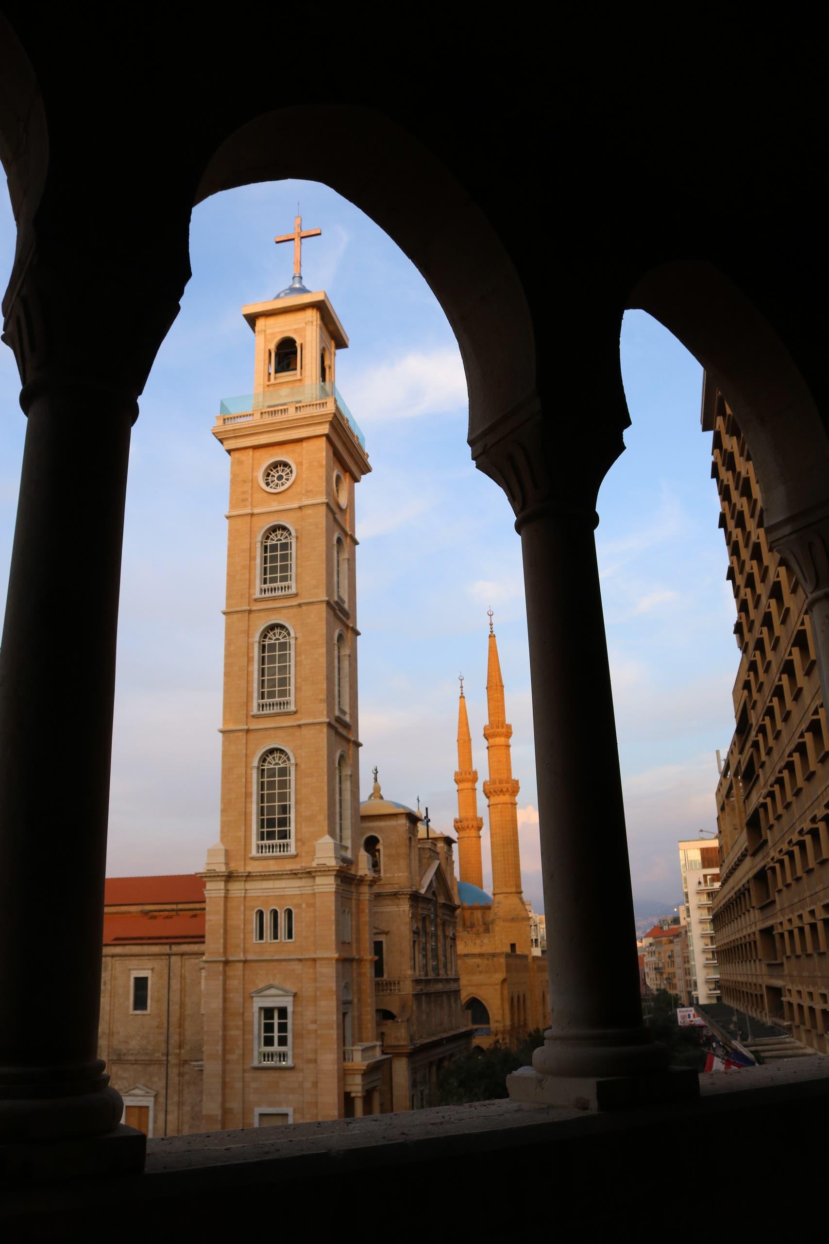 Downtown Beirut, Lebanon. (Lauren Holtmeier)
