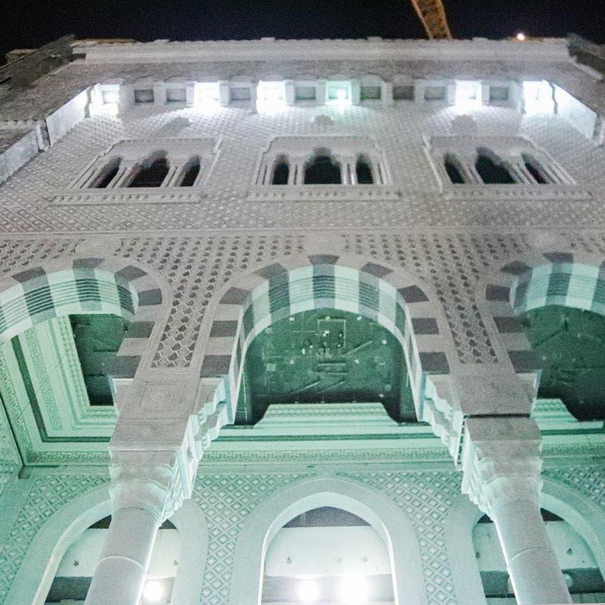 افتتاح باب الملك عبدالعزيز بالمسجد الحرام خلال موسم الحج