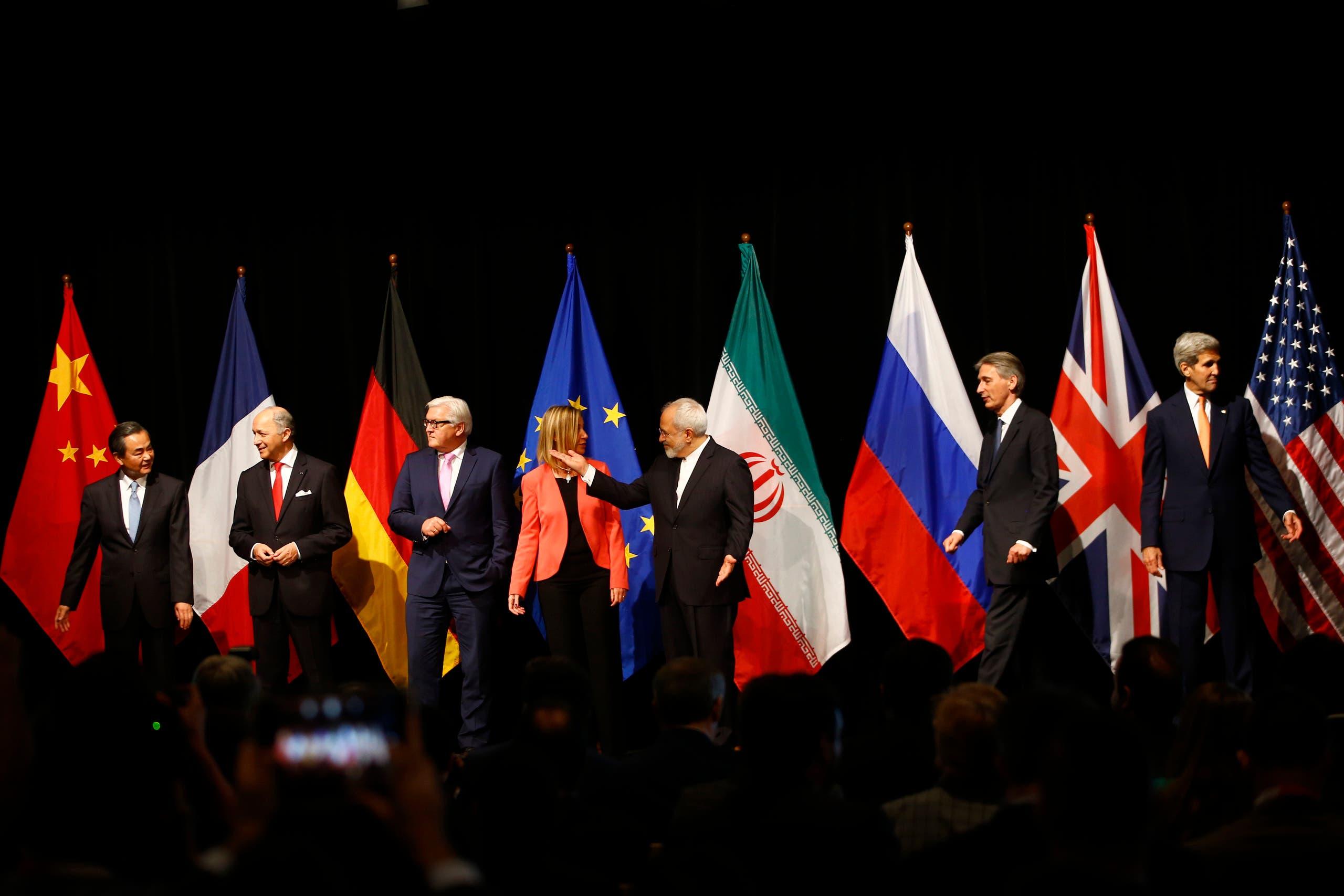 من الإعلان عن توقيع الاتفاق النووي في فييا في 2015