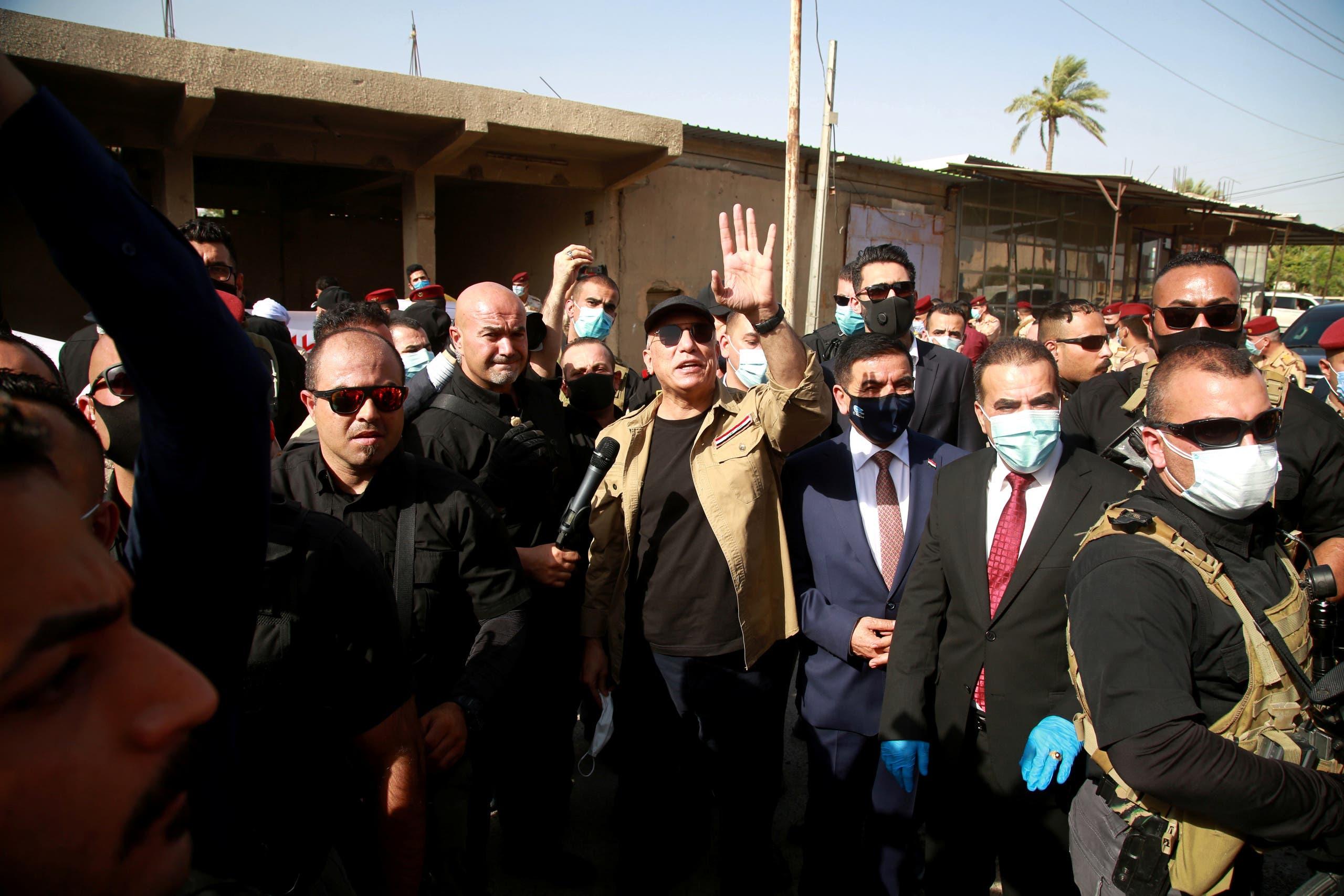الكاظمي يزور منطقة الطارمية إثر الحادثة وما تلاها من تصريحات