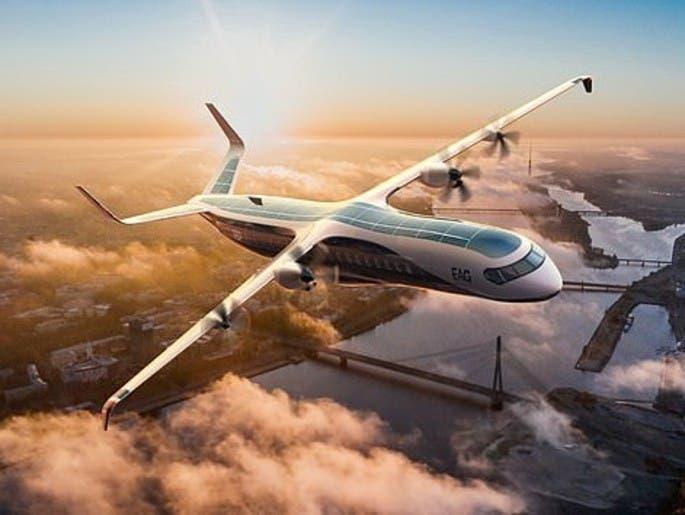 """""""أكبر طائرة هجينة في العالم"""".. إقلاع صامت و70 مقعداً"""