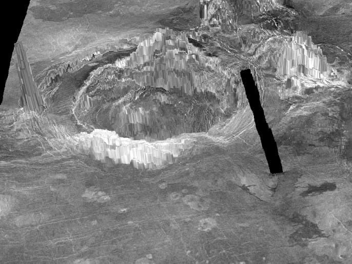 علماء يحددون 37 هيكلاً بركانياً كان نشطاً مؤخراً على الزهرة