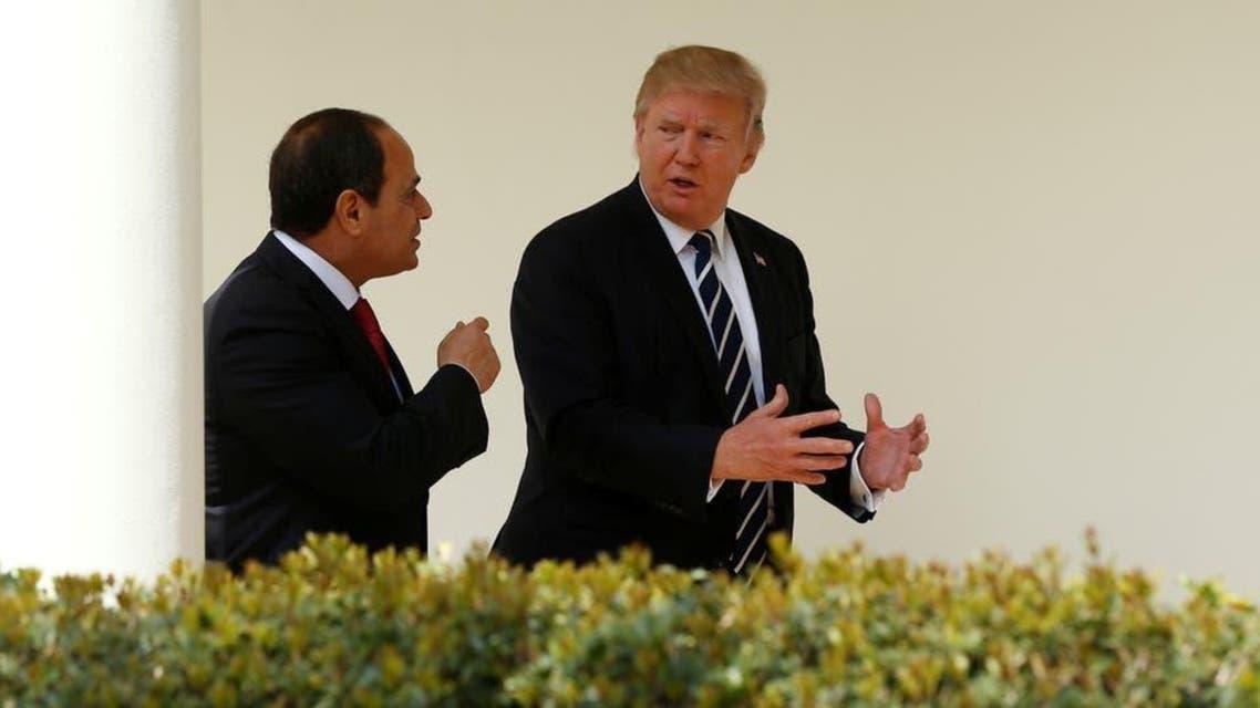 Trump and SISI