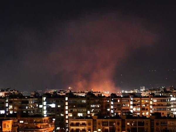 مقتل 5 من ميليشيات إيران وإصابة 11 بقصف إسرائيل لمواقع بدمشق