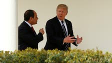 ترمب والسيسي يناقشان القضايا الإقليمية والتعاون المشترك
