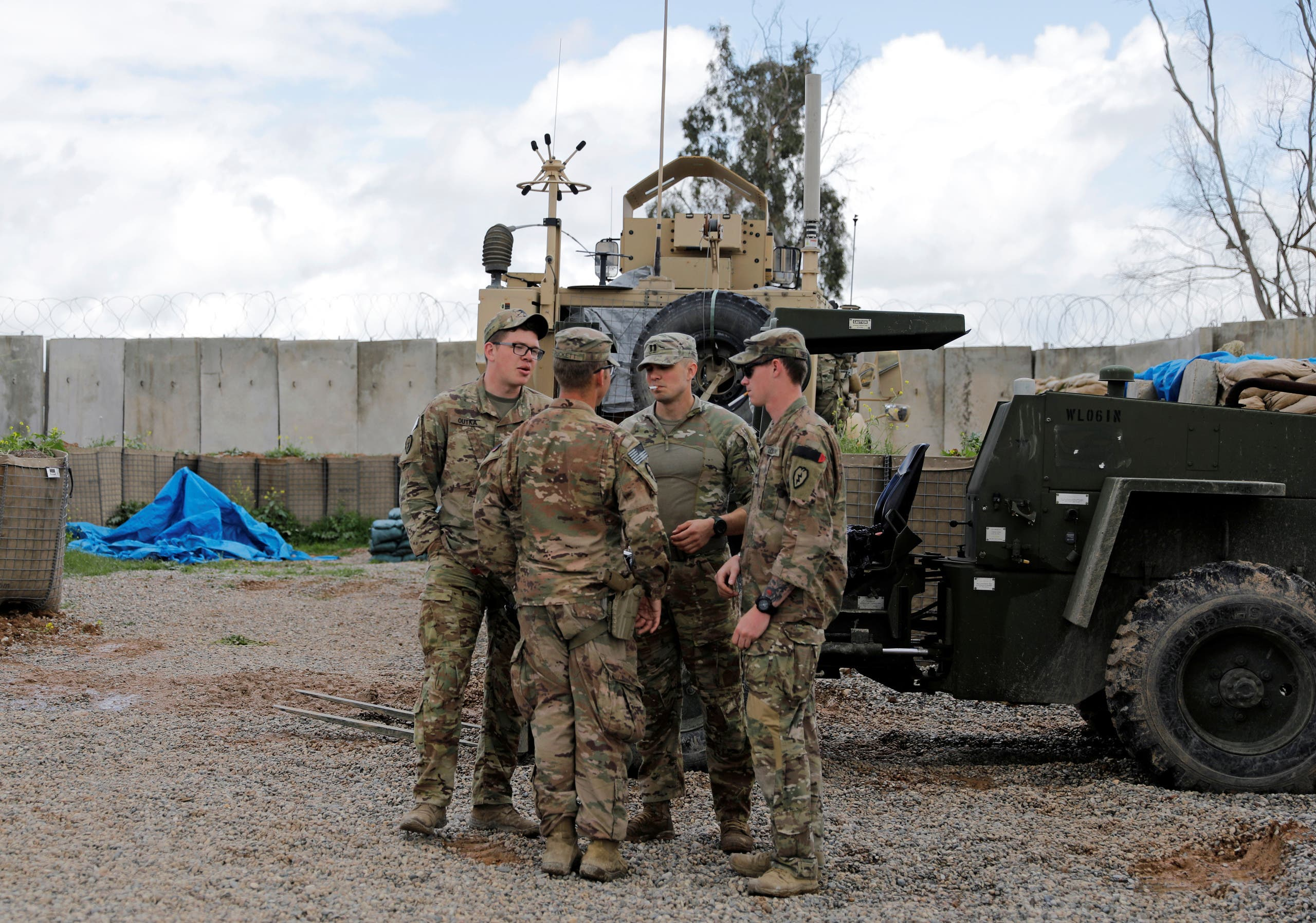جنود أميركيون في العراق