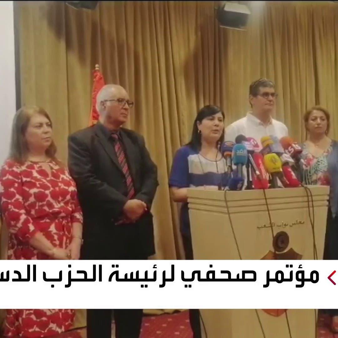 عبير موسي: برلمان تونس أصبح حاضنة للإرهاب