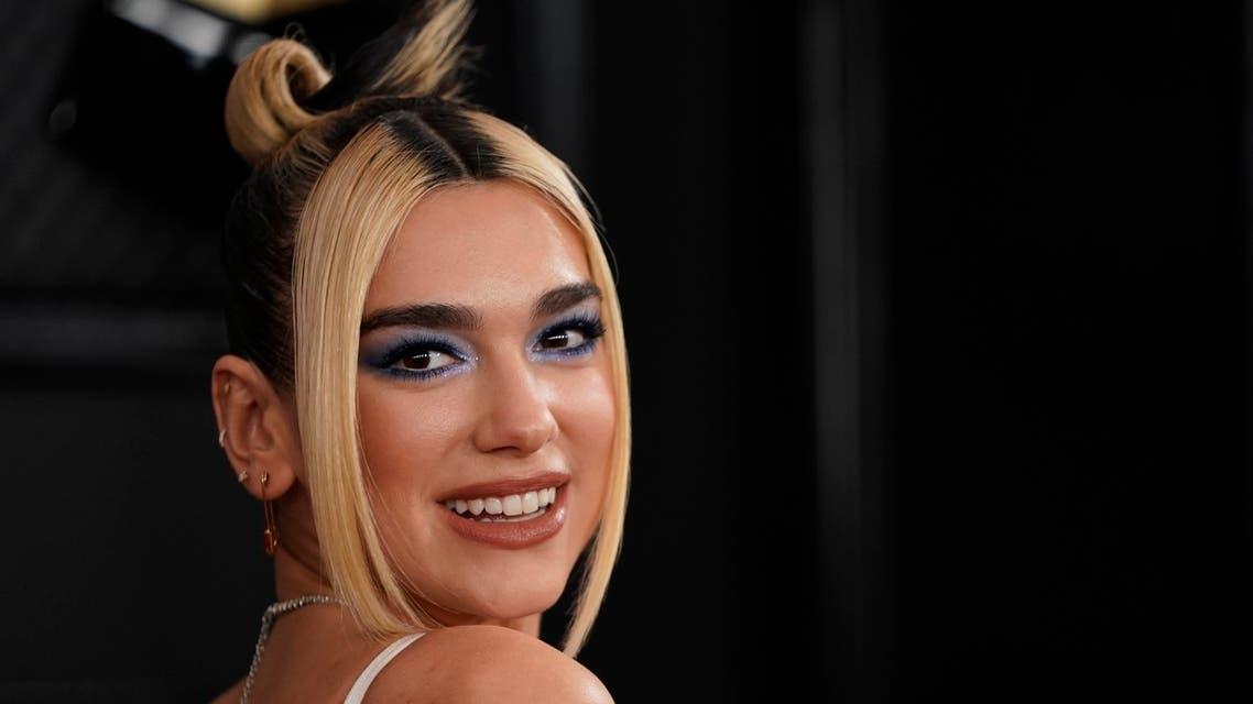 62nd Grammy Awards – Arrivals – Los Angeles, California, U.S., January 26, 2020 – Dua Lipa. REUTERS/Mike Blake