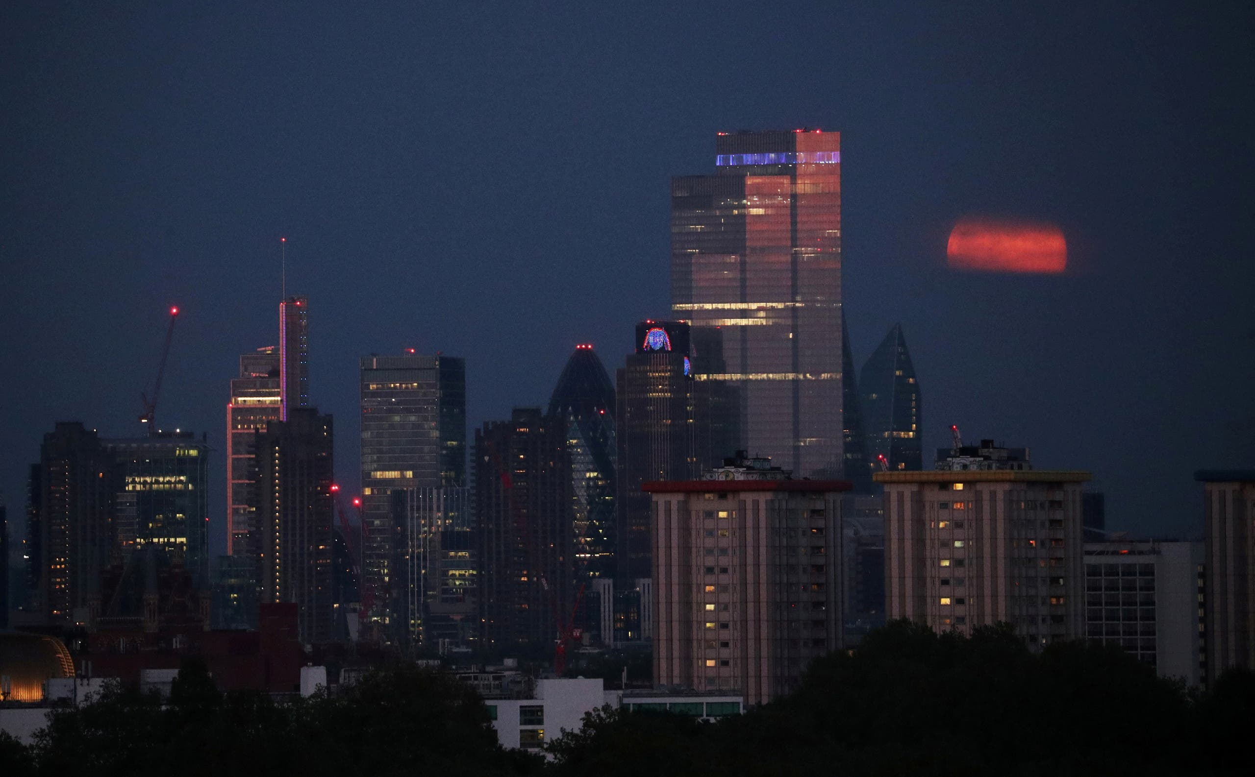 London ranked first in Knight Frank's (Y)OUR SPACE survey with 3,000 environmentally accredited buildings. (File photo: Reuters)