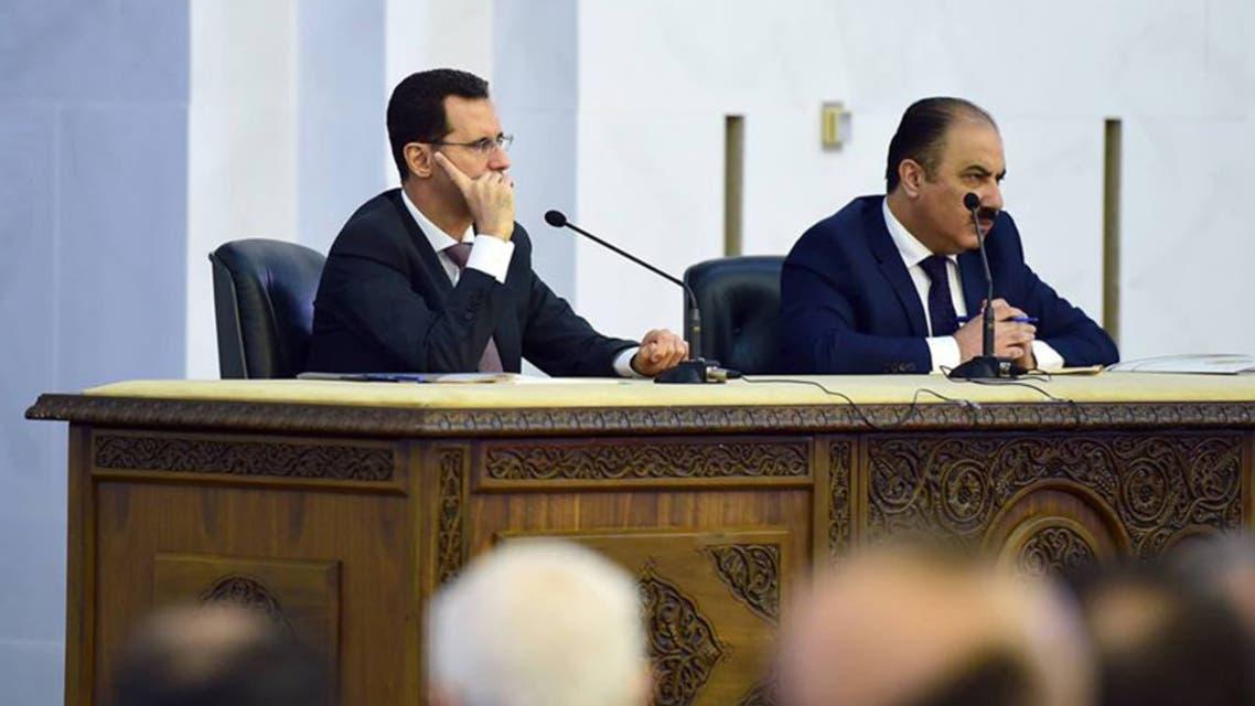 بشار الأسد وهلال الهلال