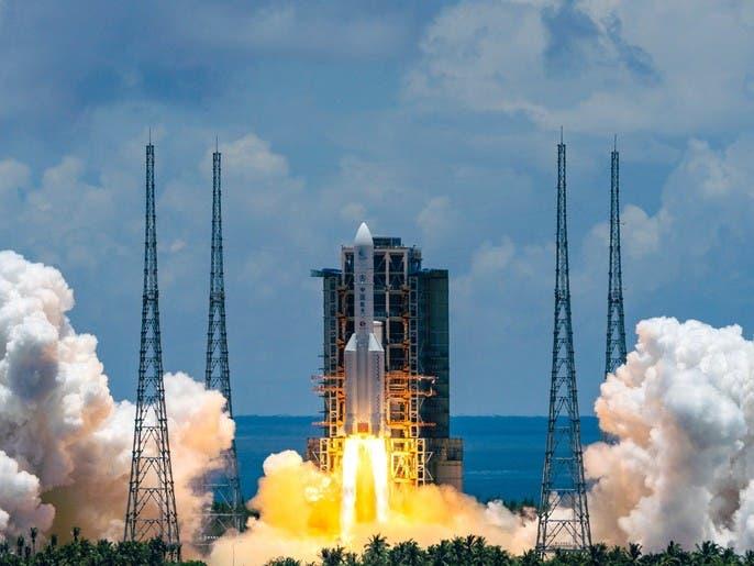 بالفيديو.. الصين تدخل الفضاء وتطلق مسبارها للمريخ