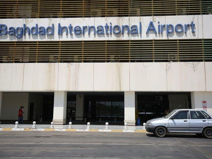 سقوط 3 صواريخ على القطاع العسكري داخل مطار بغداد الدولي