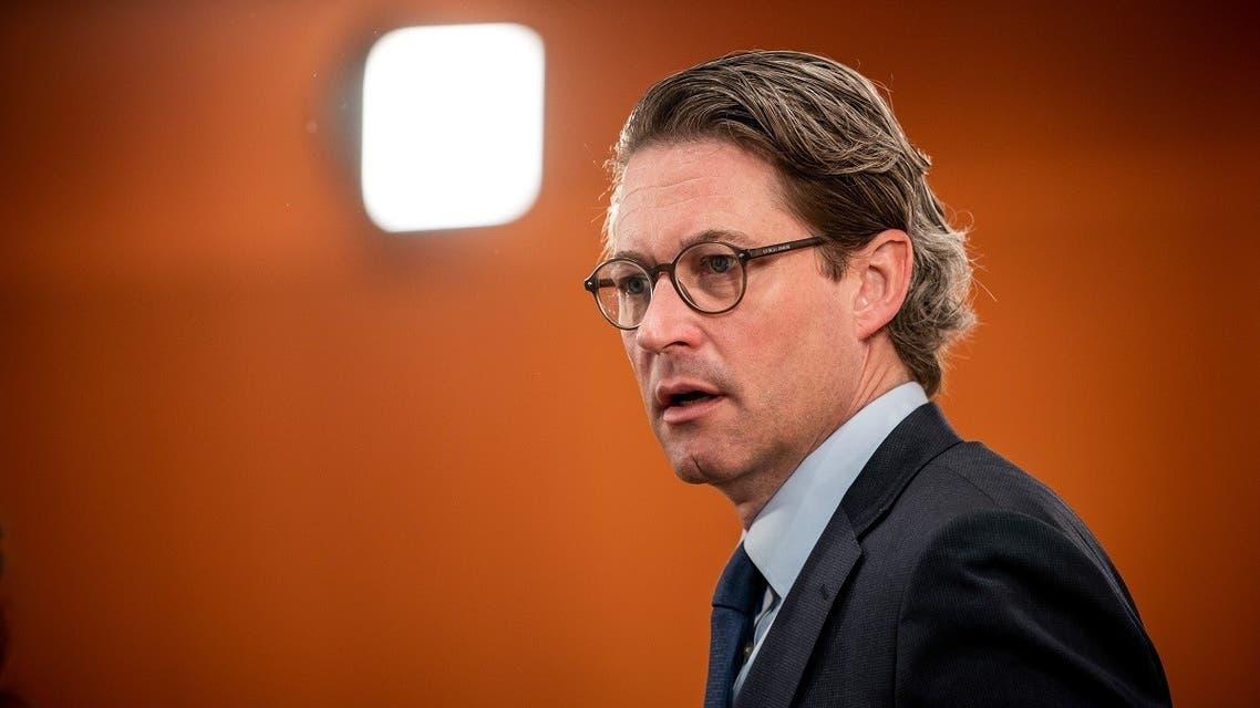 German Transport Minister Andreas Scheuer. (Reuters)
