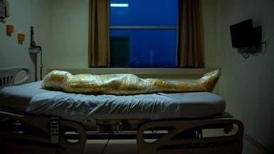 صورة مذهلة لأحد ضحايا كورونا يبدو فيها كأنه من كوكب آخر