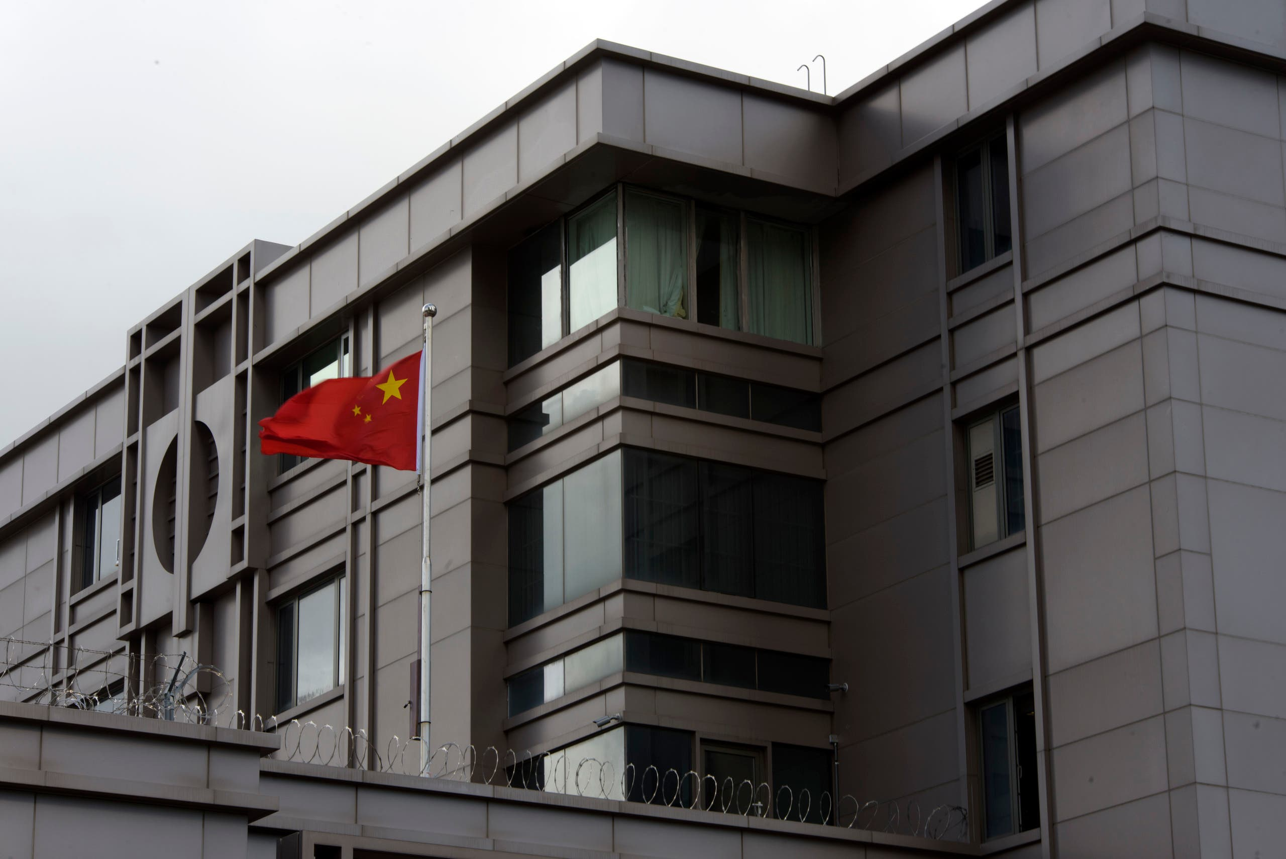 القنصلية الصينية في هيوستن (أرشيفية- فرانس برس)