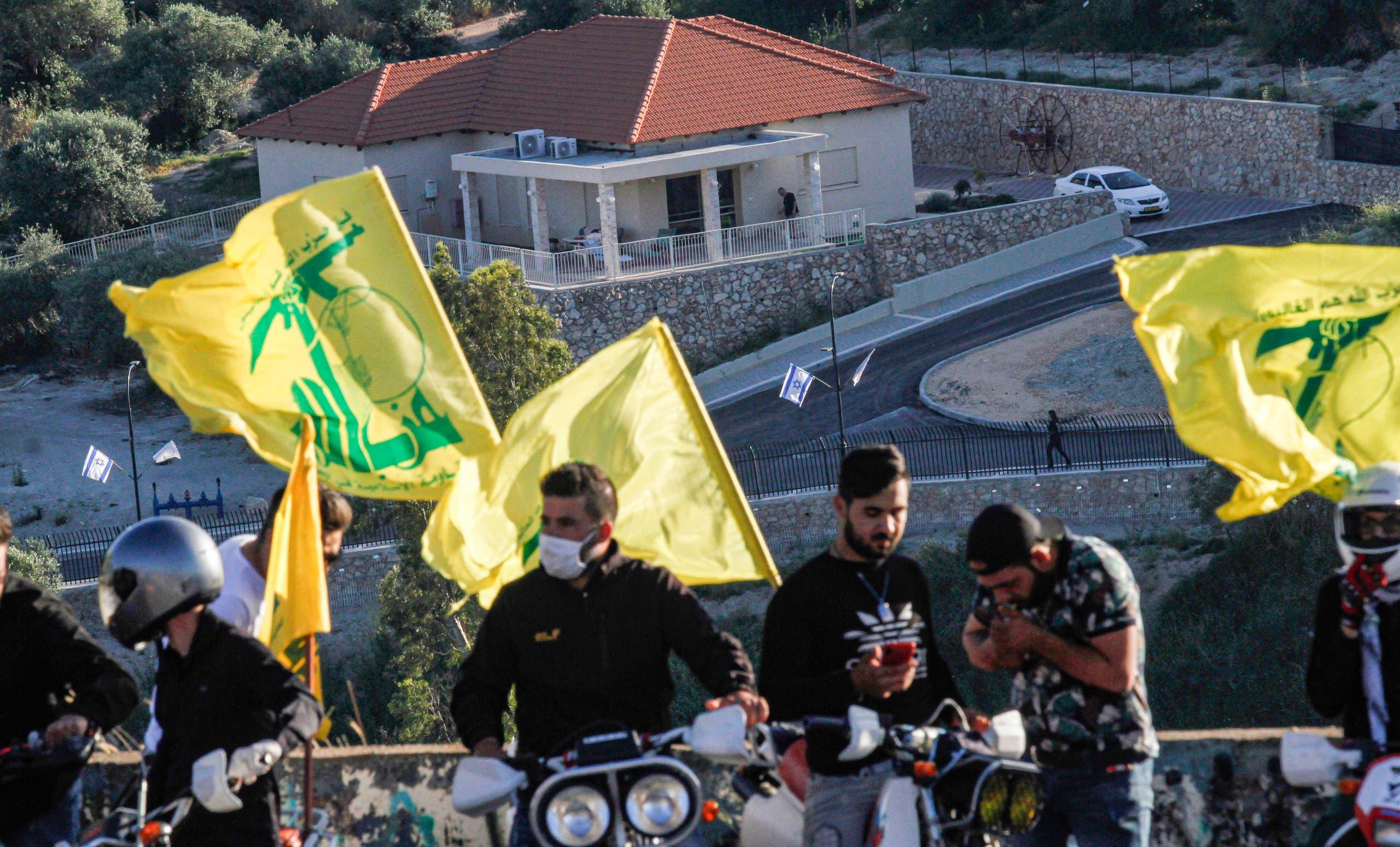 مناصرو حزب الله جنوب لبنان (أرشيفية- فرانس برس)