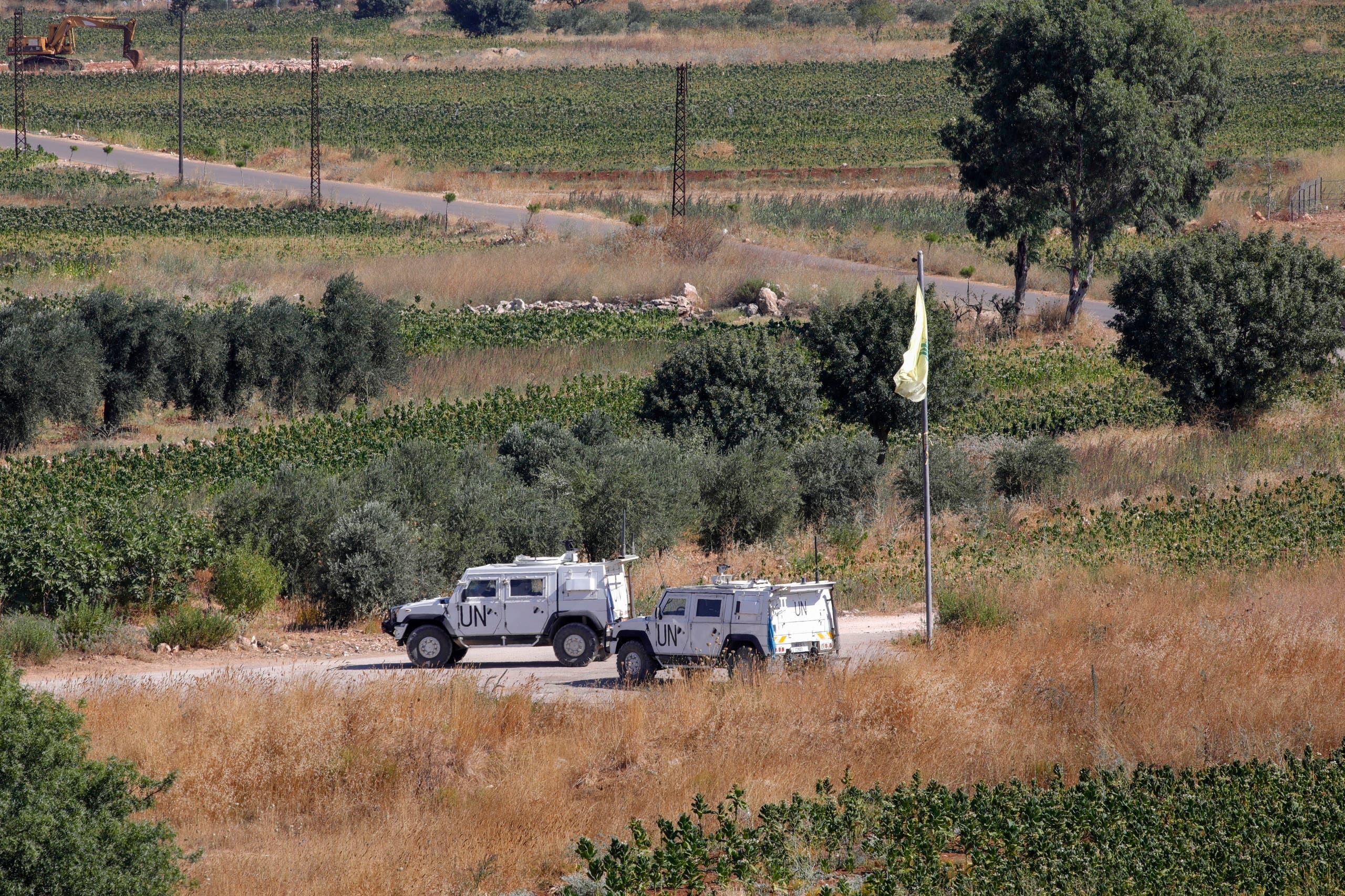 من الحدود اللبنانية (أرشيفية- فرانس برس)